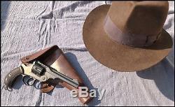 Webley WG Army Model Indiana Jones IV Gun Prop Replica and Original Holster