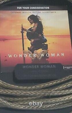 Wonder Woman (2017) -limited Edition Rare Lasso Of Hestia Promo #29/100 Edition